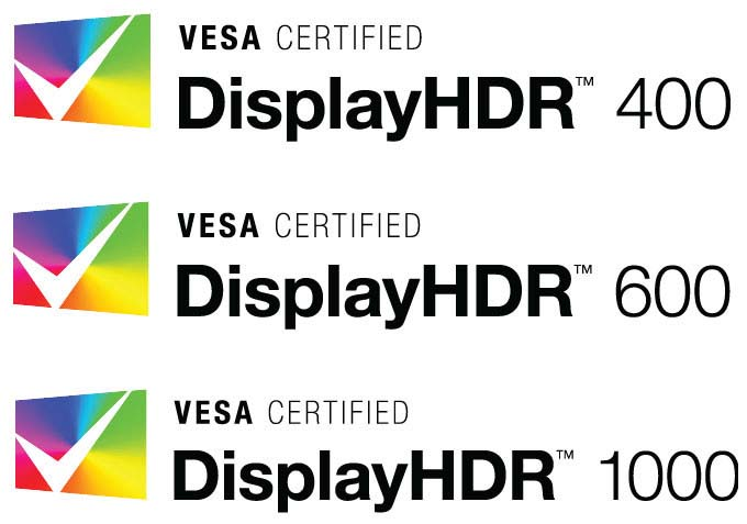 DisplayHDR - Vesa Certified