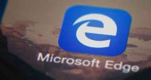 Navigateur Microsoft Edge sous Android et iOS