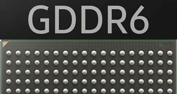Mémoire GDDR6