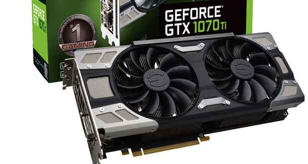 GeForce GTX 1070 Ti FTW ULTRA SILENT GAMING