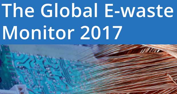 Rapport Global E-Waste Monitor 2017