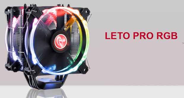 Ventirad Leto Pro RGB de Raijintek