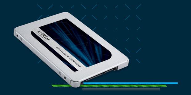 SSD MX500 de Crucial
