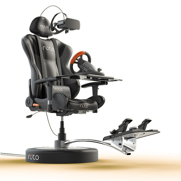 Roto VR Chair - Packtage complet