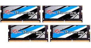Kit Ripjaws DDR4 64GB (4x16GB) SO-DIMM à 3466MHz CL17