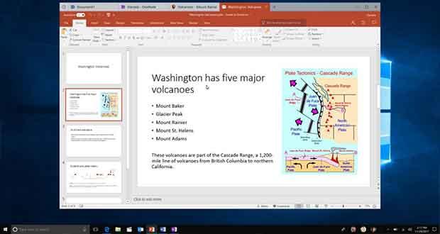 Windows 10 et la fonction Sets