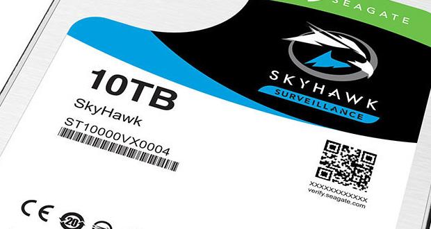 Disque dur Skyhawk de 10 To de Seagate