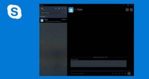 Skype et le Fluent Design