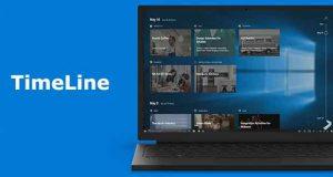 Windows 10 et la fonction TimeLine