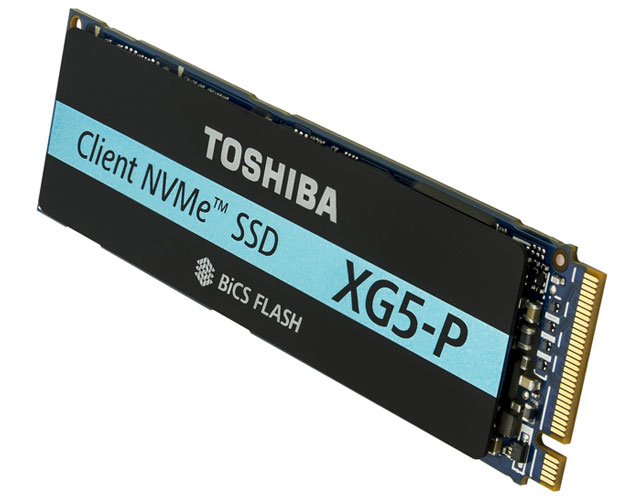 SSD M.2 2280 XG5-P de Toshiba