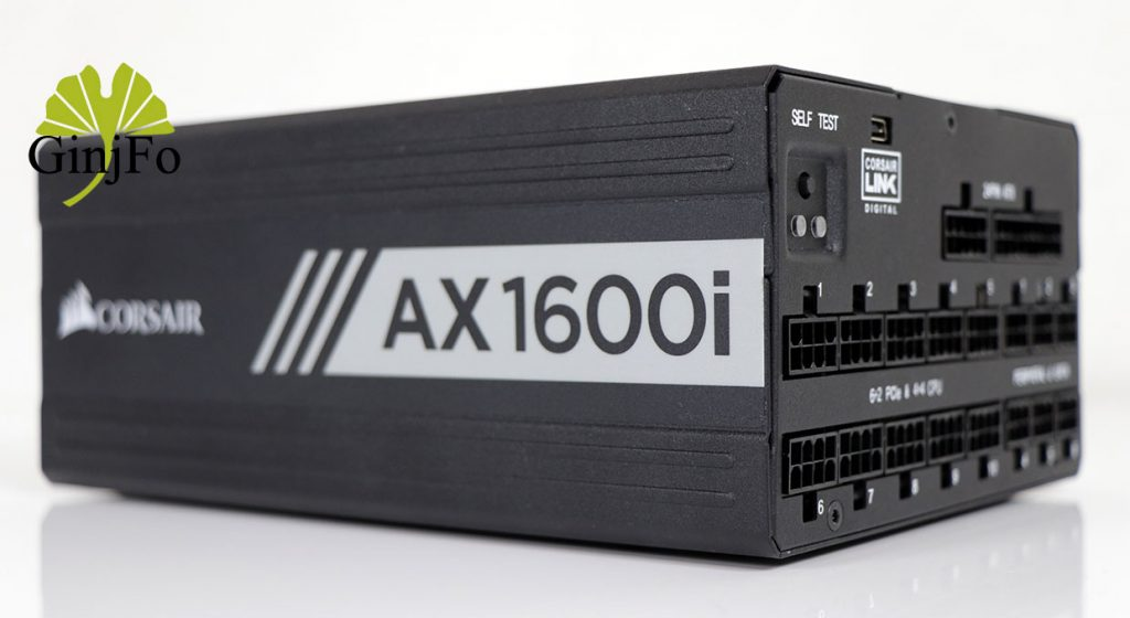 Alimentation AX1600i de Corsair