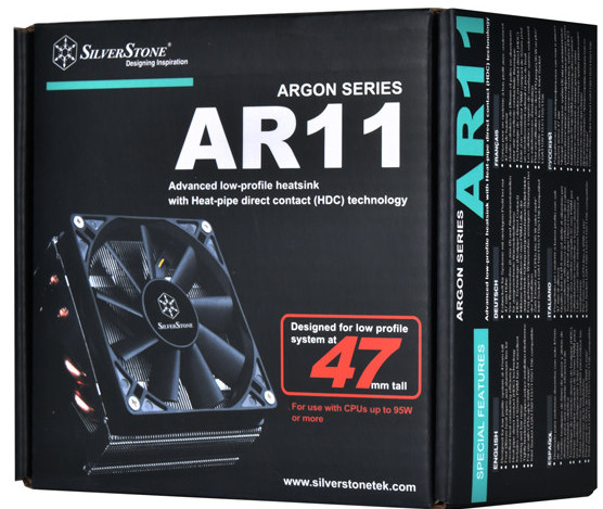 Ventirad Argon AR11 de Silverstone