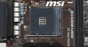 Carte mère B350I Pro AC de MSI