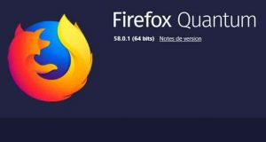 Firefox Quantum 58.0.1