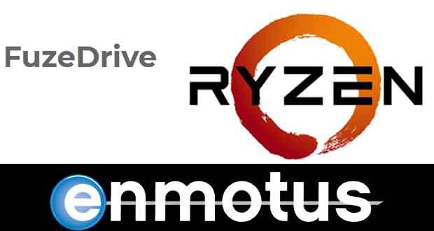 Logiciel FuzeDrive pour plateforme Ryzen