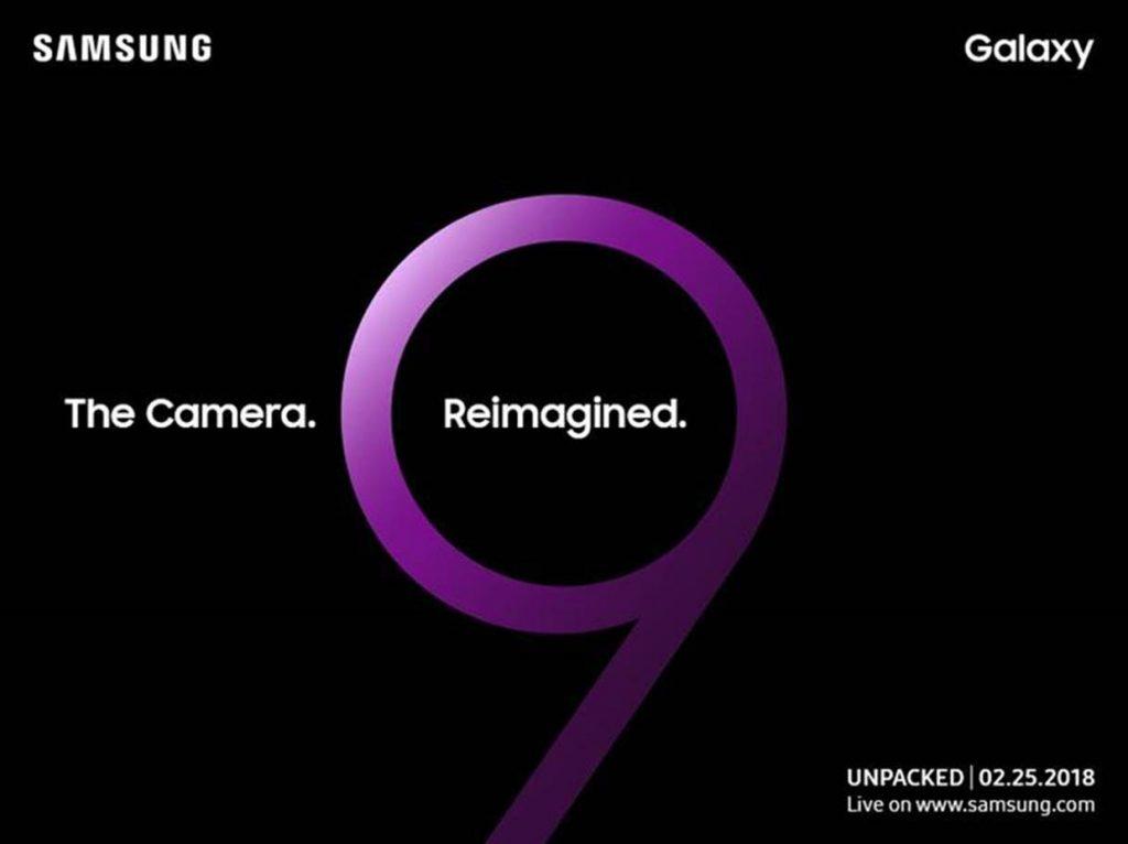 Galaxy S9, évènement Unpacked le 25 février 2018