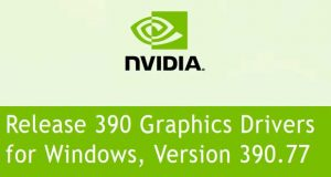 Pilote graphique GeForce Game Ready 390.77