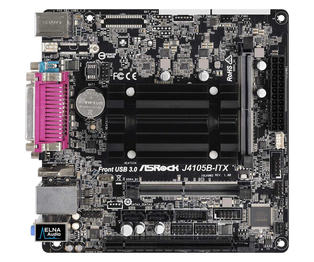 Carte mère ASRock J4105B-ITX