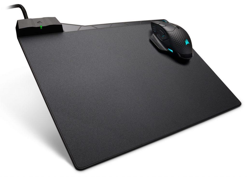 Tapis de souris à recharge sans fil Qi MM1000