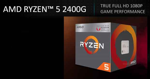 Ryzen 5 2400G Vs Core i5-8400, les performances iGPU en gaming