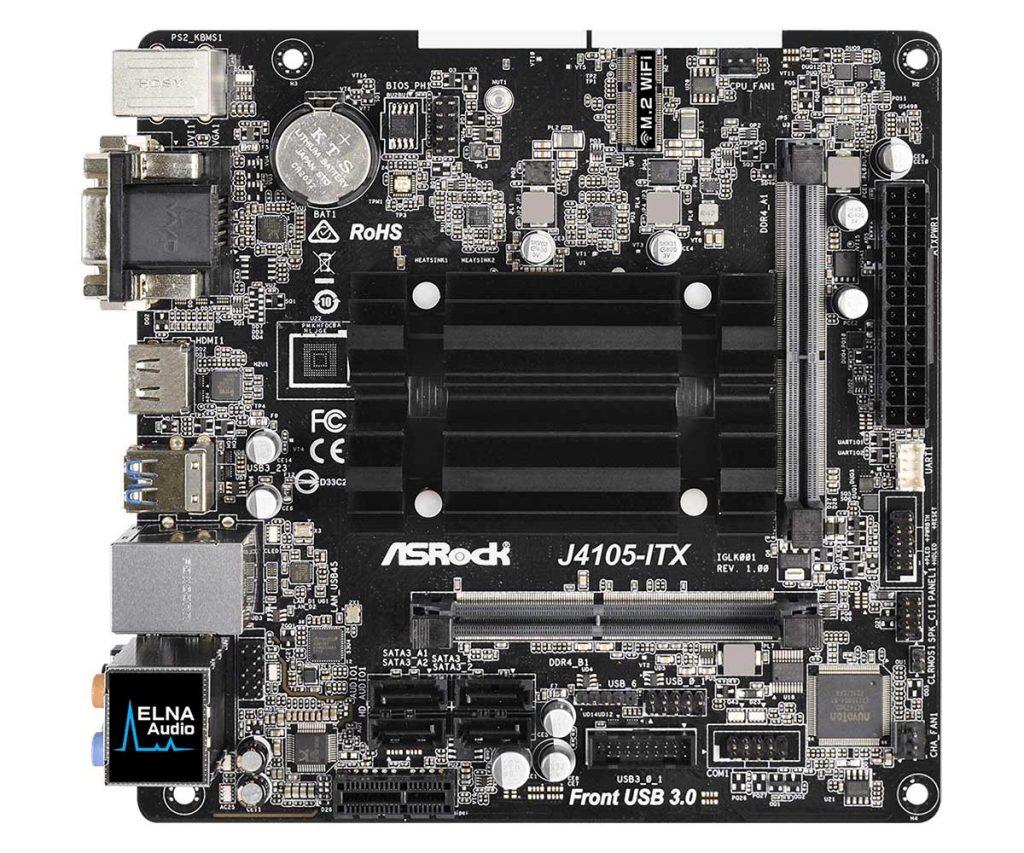 Carte mère ASRock J4105-ITX