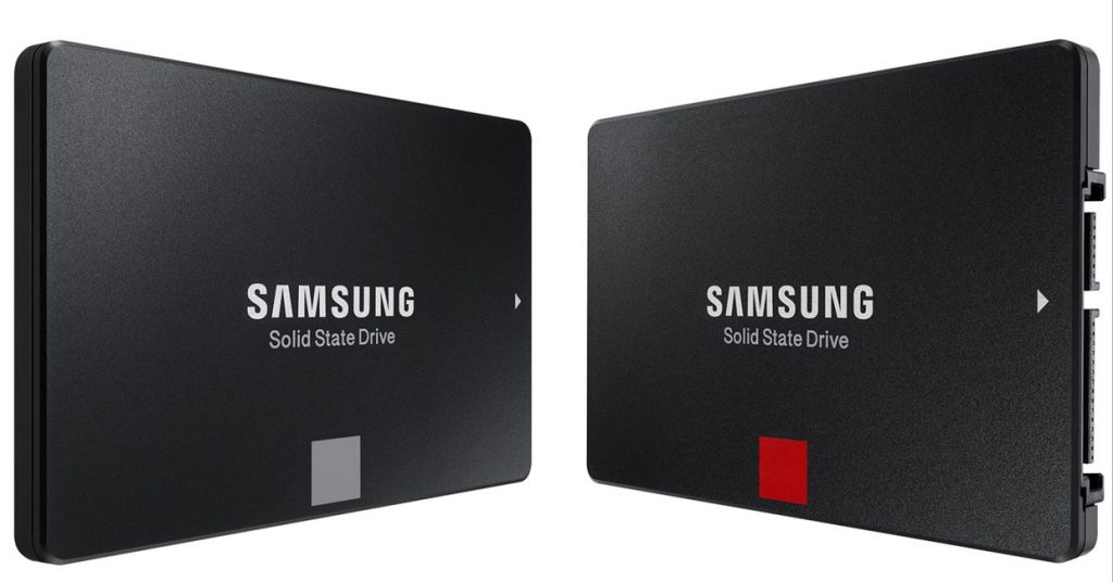 SSD 860 Pro et 860 Evo de Samsung