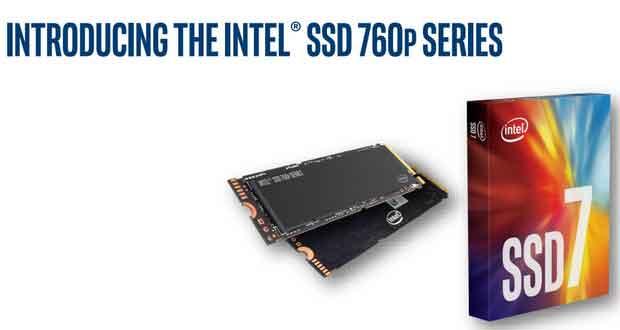 SSD 760p d'Intel