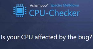 Spectre Meltdown CPU Checker
