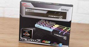DDR4 Trident Z RGB pour plateforme Ryzen