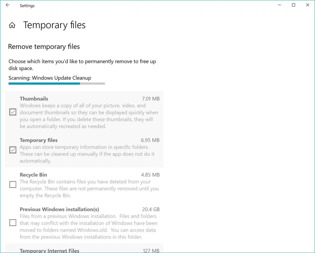 Windows 10 Redstone 4 Build 17074