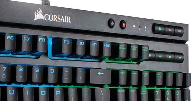 Clavier K68 RGB de Corsair