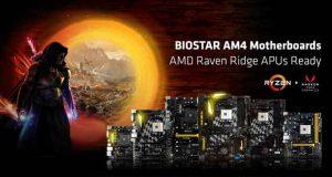 APU Raven Ridge, de nouveaux BIOS débarquent pour les cartes mères AM4 Biostar
