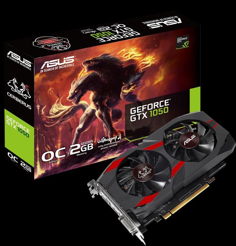 GeForce GTX 1050 Cerberus - CERBERUS-GTX1050-O2G