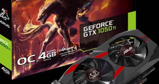 GeForce GTX 1050 Ti Cerberus (CERBERUS-GTX1050TI-O4G)