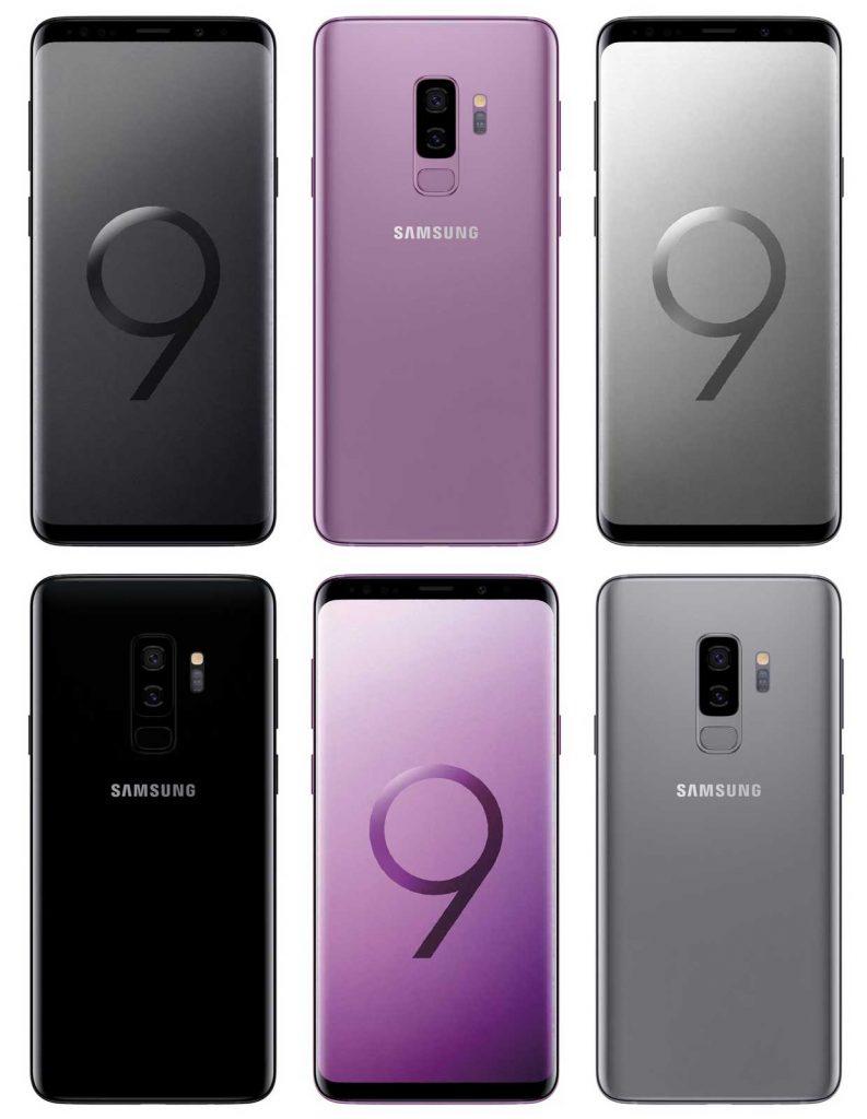 Smartphones Galaxy S9 et Galaxy S9 Plus de Samsung