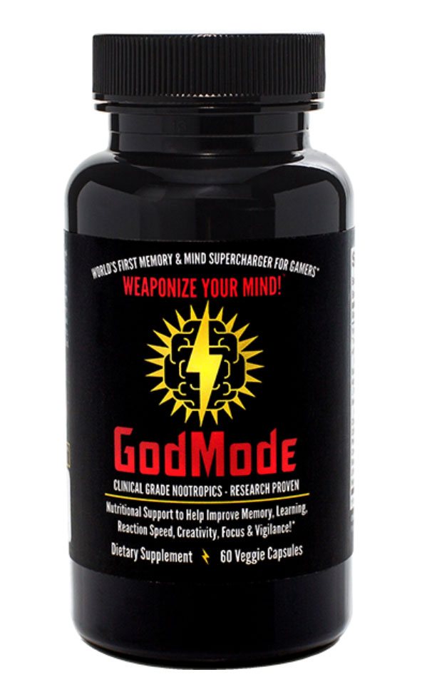GodMode - Nootropic Brain Booster