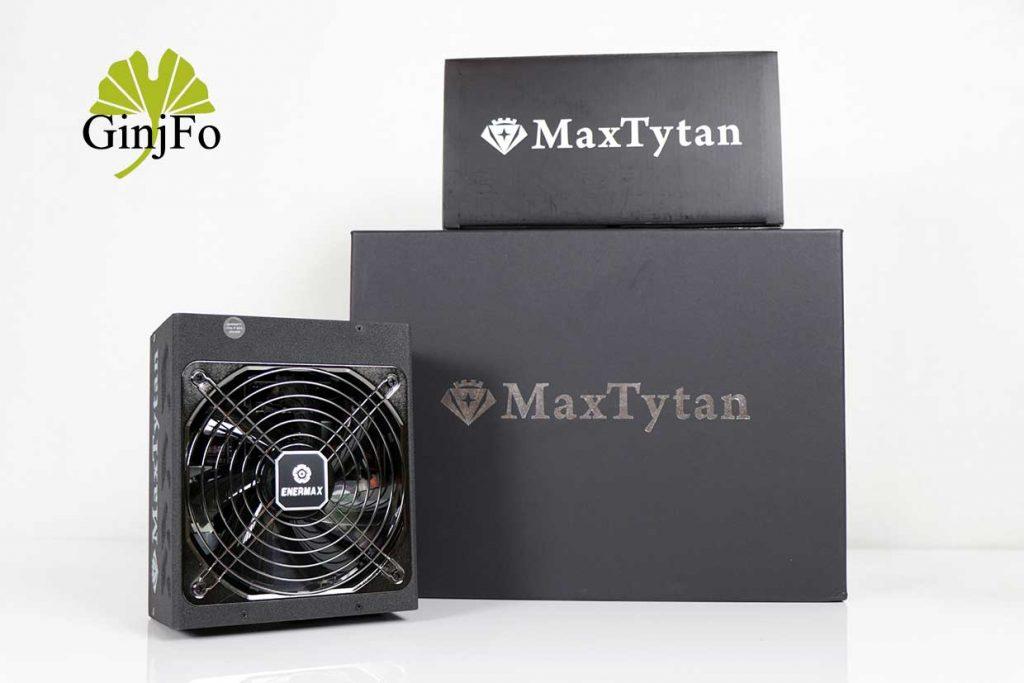 Alimentation MaxTytan 750W d'Enermax