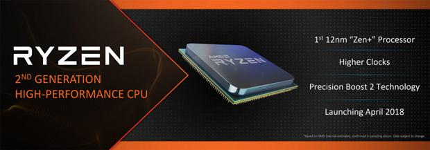 Ryzen 2, slide AMD