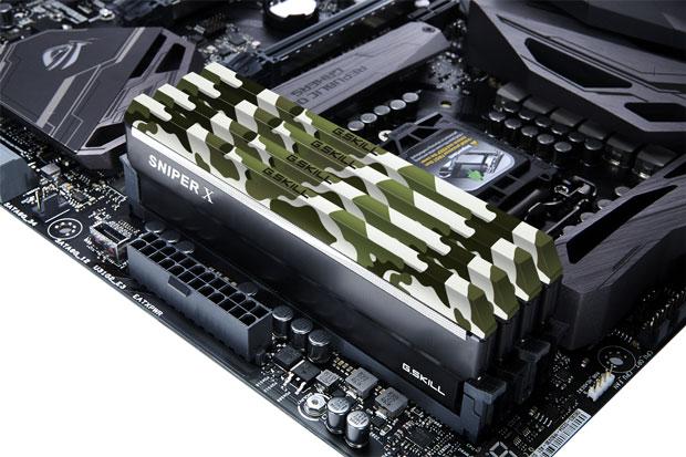 Sniper X DDR4 de G.Skill