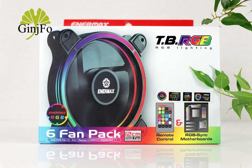 T.B.RGB 6 Fan Pack d'Enermax