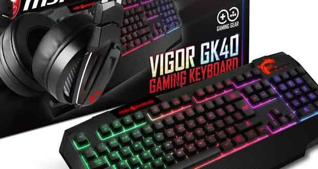 Casque Immerse GH60 Gaming et clavier Vigor GK40 Gaming