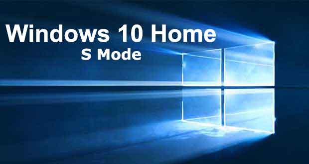 Windows 10 et le mode S