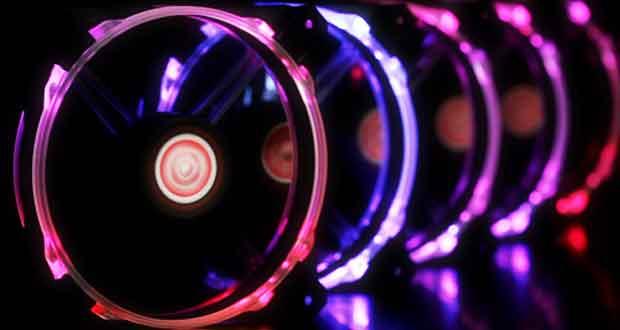 Macula 12 Rainbow RGB de Raijintek