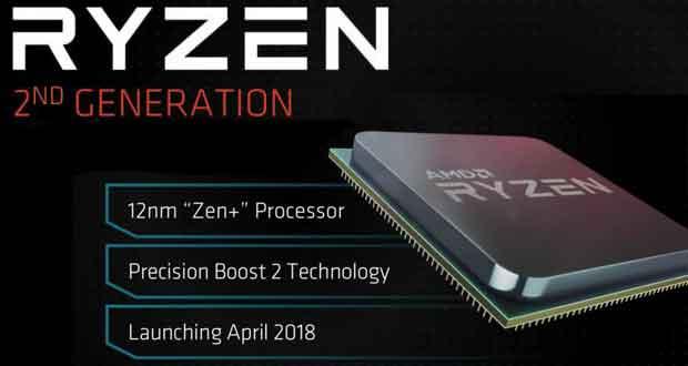 Processeur Ryzen de deuxième génération