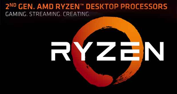 AMD Ryzen 2000-series dont le Ryzen 7 2700X