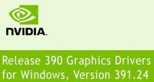 GeForce 391.24 WHQL