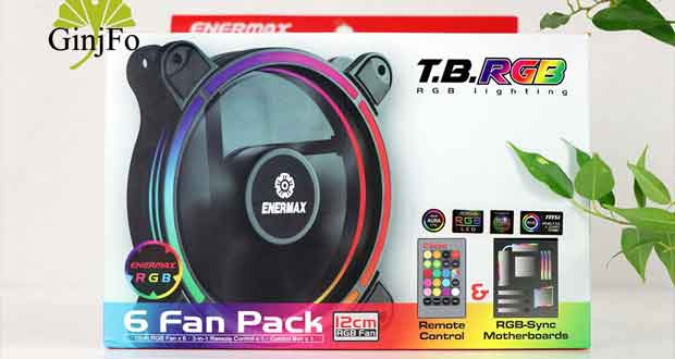 T.B.RGB 6 Fan Pack d'Enermax