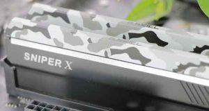 Sniper X Urban Camo 2 x 8 Go DDR4 3600 MHz CL19