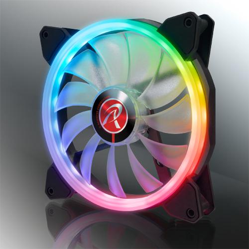 Ventilateur Iris 14 Rainbow RGB de Raijintek