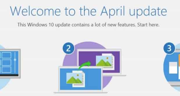 Windows 10 Redstone 4 - April Update